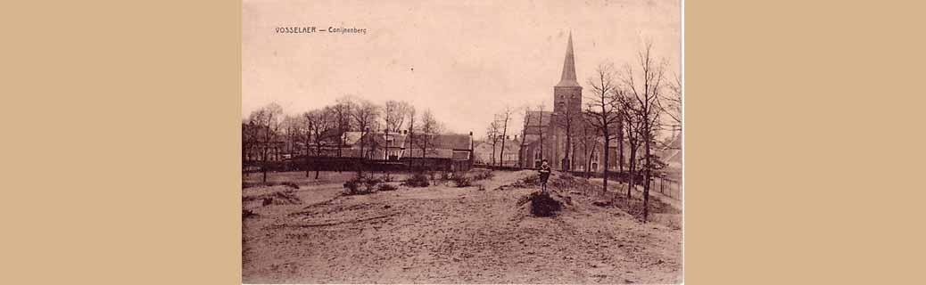 De Konijnenberg ligt in Vosselaar en is de hoogste stuifduin van de Antwerpse Kempen